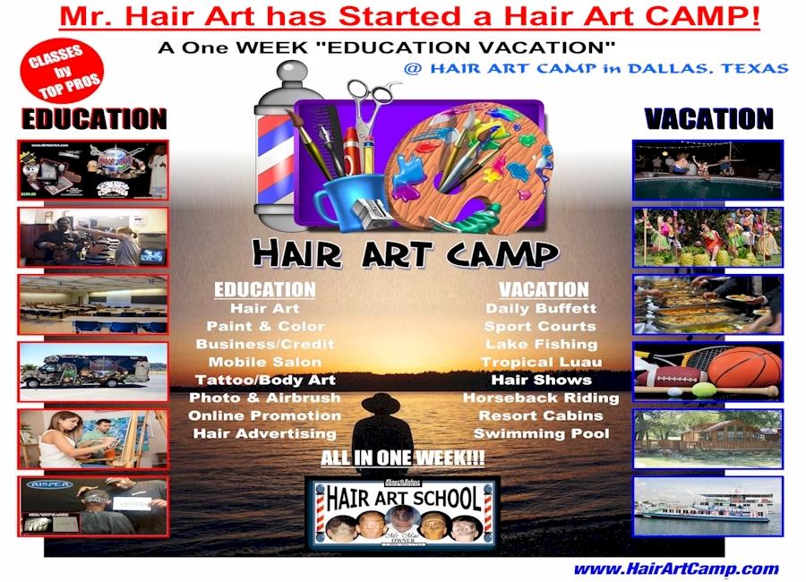 Hair Art CAMP